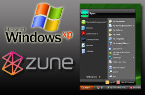 Mit Zune Desktop Theme Windows XP neues Layout verpassen