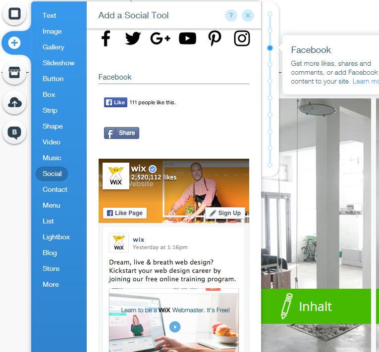 wix-social-media