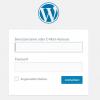 WordPress-Passwort vergessen?